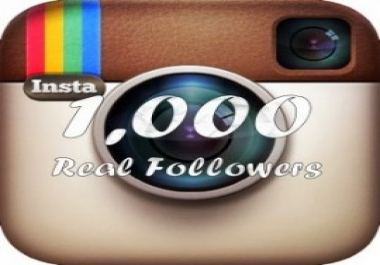 1000 follower instagram