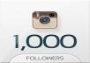 1000+ Follower per Instagram