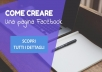 Creazione e gestione pagine Facebook