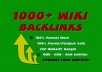 Domina Google con 1000 wiki backlinks